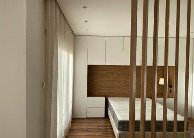 renovação quarto de casal com closet