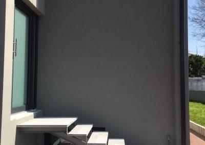 remodelação obra exterior
