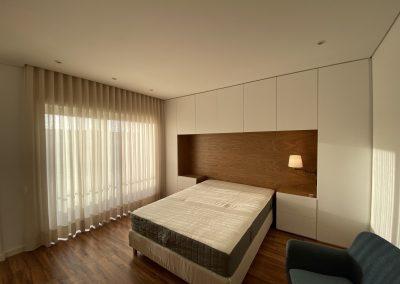 planeamento e remodelação quarto casal suite com closet